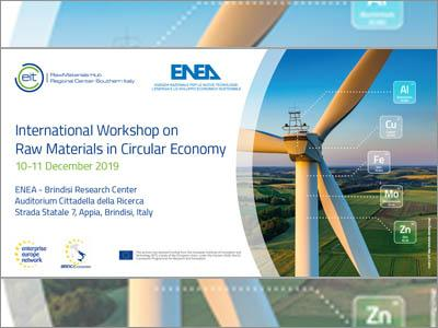International Workshop on Raw Materials in Circular Economy